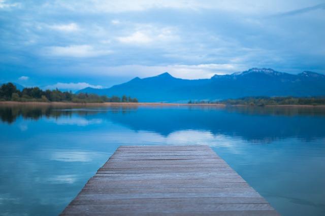 Lake, Web, Alpine, Chiemsee, Mountains, Landscape