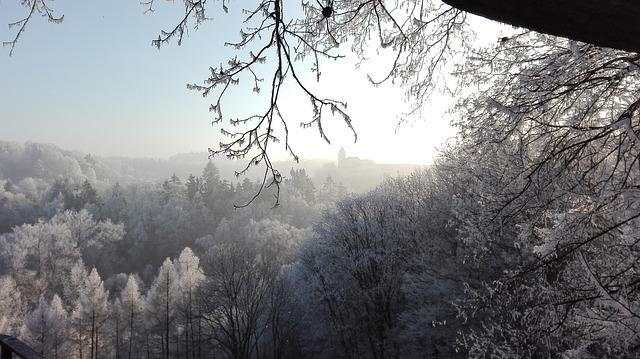 Winter, Frost, Cold, Landscape, Christmas, View