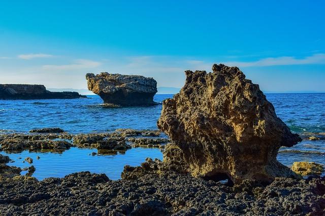 Rocky Coast, Erosion, Sea, Nature, Landscape, Coastline