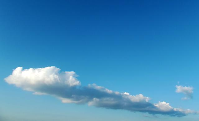 Clouds, Sky, Landscape, Cotton Clouds Blue, Turkey