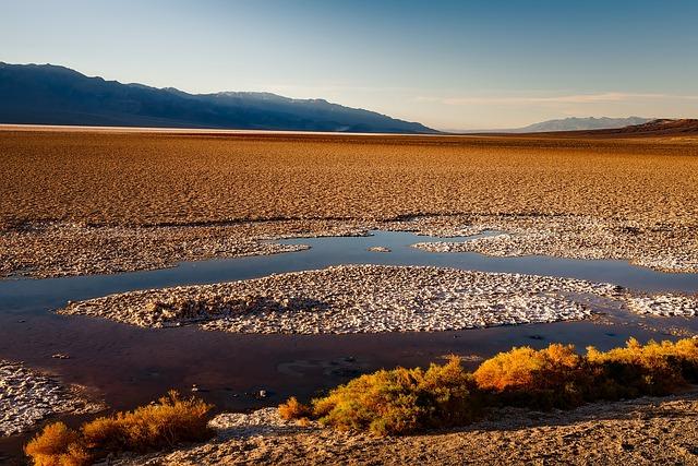 Death Valley, California, Desert, Tourism, Landscape