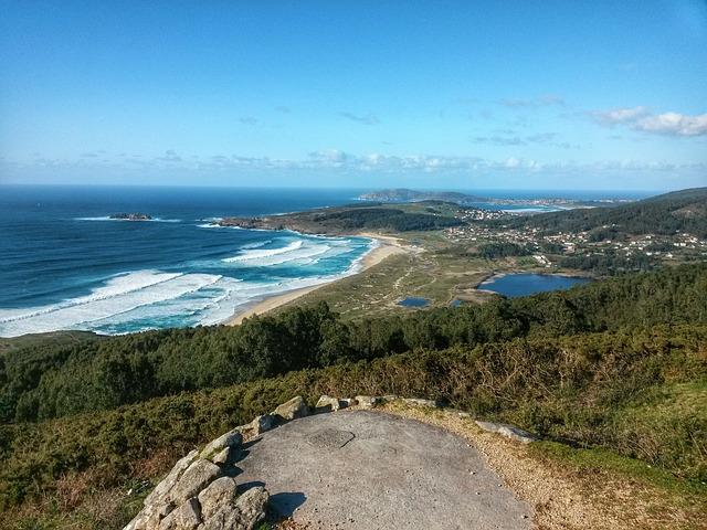 Doniños, Sea, Beach, Spain, Galicia, Waves, Landscape