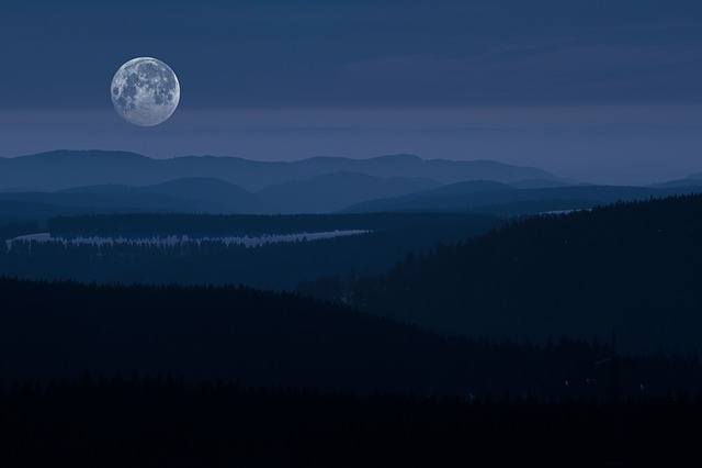 Resin, Eighth Man, Night Photograph, Landscape