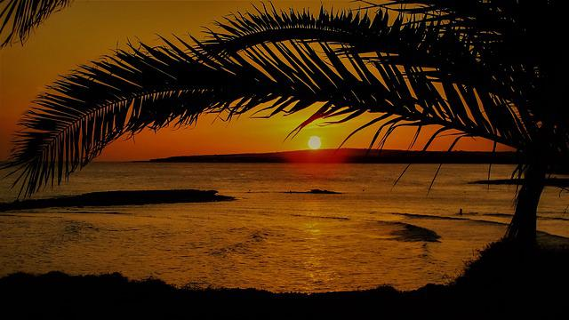 Sunset, Dusk, Evening, Landscape, Nature, Colorful, Sea