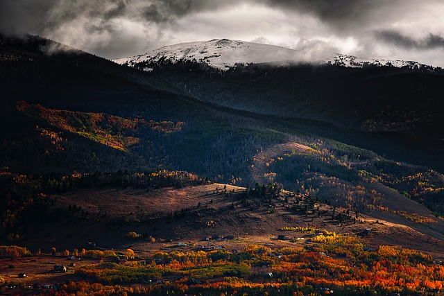 Colorado, Fall, Autumn, Colors, Landscape, Mountains