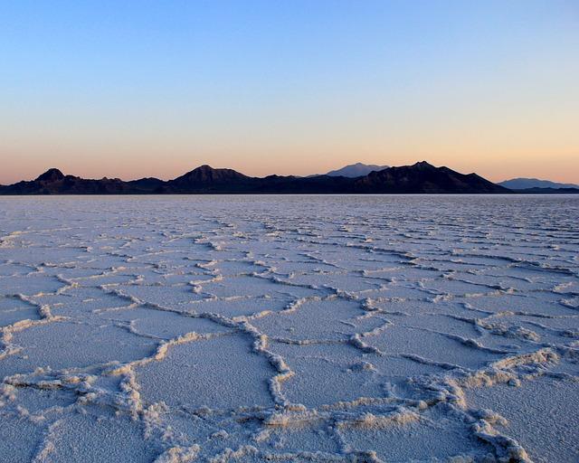 Sunrise, Salt Flats, Landscape, Flat, Nature, Travel