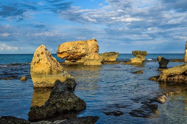 Sea, Seashore, Rock, Formation, Nature, Landscape