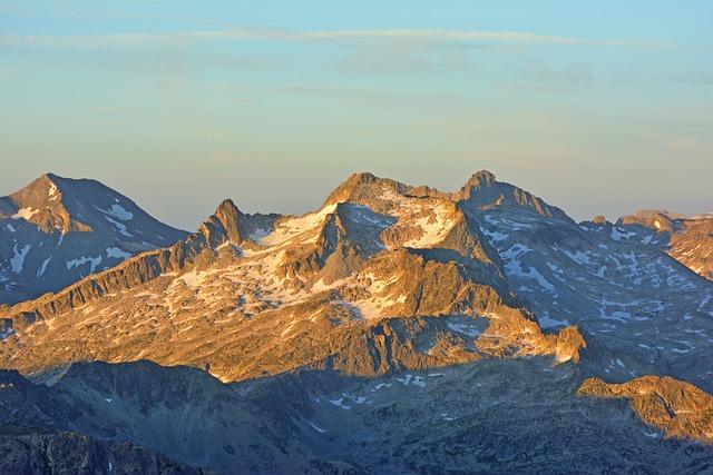 Pyrénées, Mountain, France, Sun Rise, Landscape, Dawn
