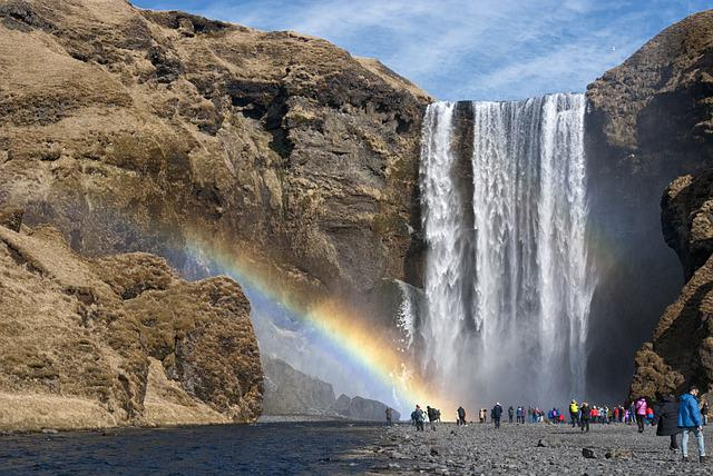 Iceland, Waterfall, River, Water, Landscape, Nature