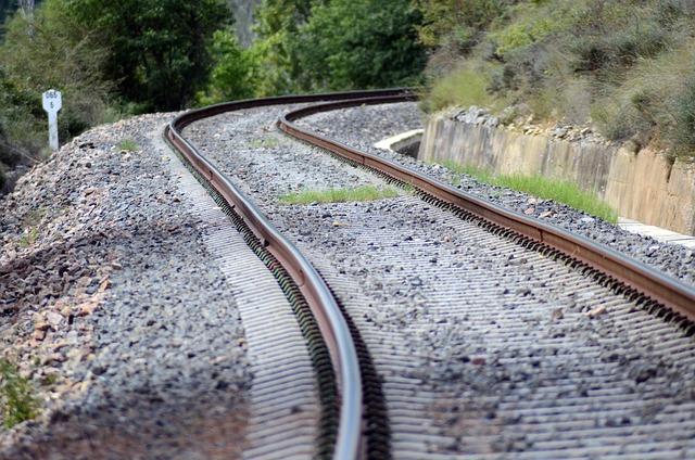 Train, Railway, Landscape, Via, Iron, Distance