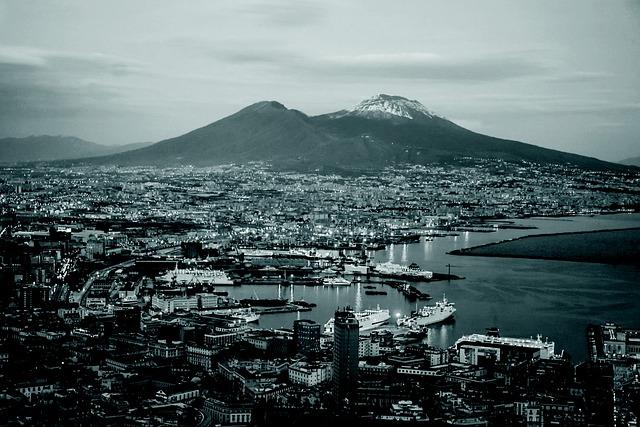 Naples, Landscape, Campania, Italy, City