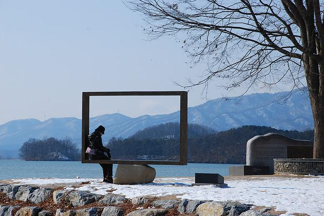 Two Water Head, Korea, Landscape, Winter, Yangpyeong