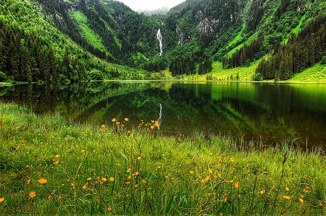 Schladming, Lake, Nature, Landscape, Mountains, Bergsee