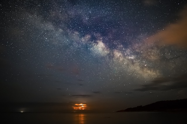 Nature, Landscape, Milky Way, Astrophotography