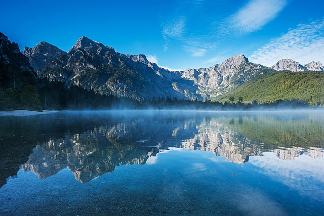 Mountains, Landscape, Mirroring, Reflection, Water