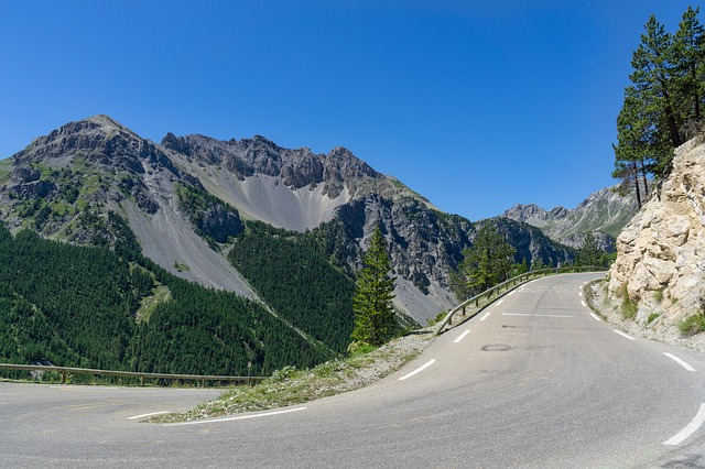 Alpine, Road, Landscape, Mountain, Mountains