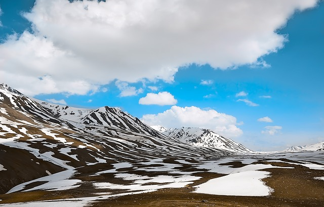 Panorama, Snow, Mountain, Nature, Sky, Landscape