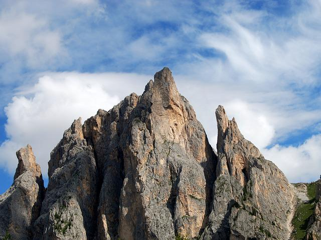 Dolomites, Mountain, Top, Landscape, Rock, Italy