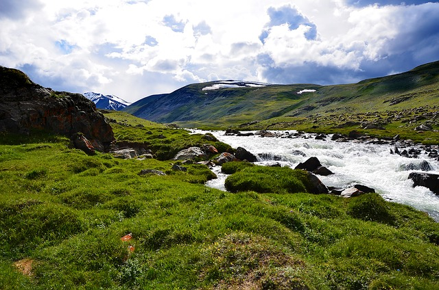 Altai, Mountains, Landscape, Mountain River