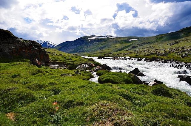 Altai, Mountains, Landscape, Mountain River
