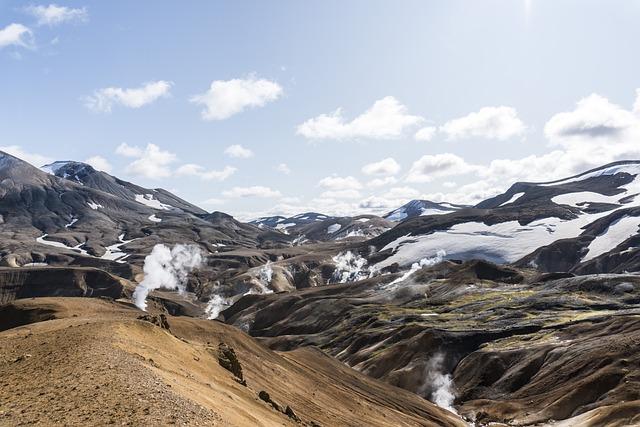 Iceland, Highlands, Landscape, Mountains