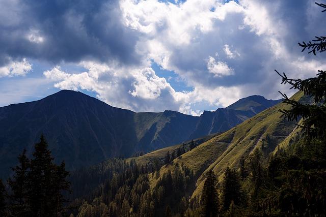 Landscape, Mountains, Nature, Panorama