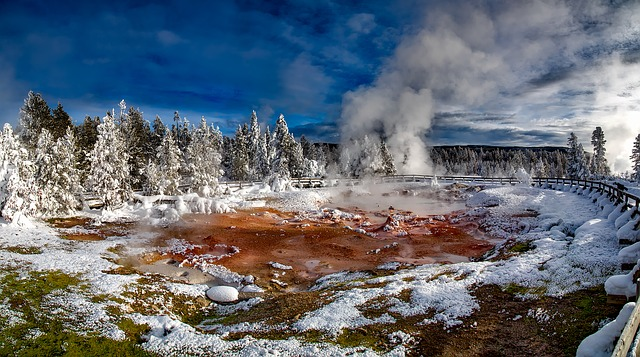 Yellowstone, National Park, Wyoming, Tourism, Landscape