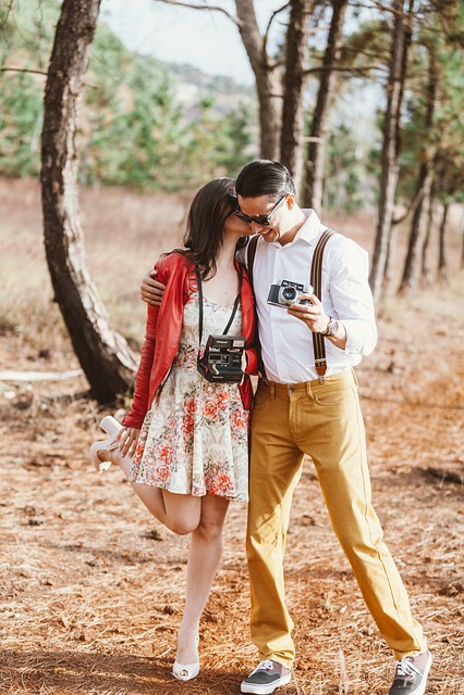 Nature, Couple In Love, Grooms, Romantic, Landscape
