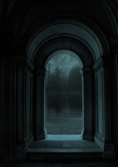 Door, Landscape, Fantasy, Forest, Night, Nature