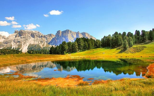 Dolomites, Val Gardena, Nature, Landscape, Hiking