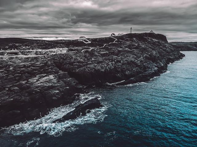 Roche, Water, Ocean, Lighthouse, Nature, Landscape