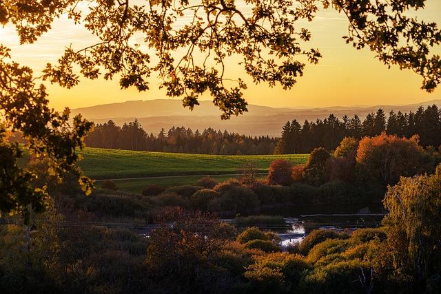 Nature, Landscape, Sun, Sunset, Sky, Mood, Sunrise