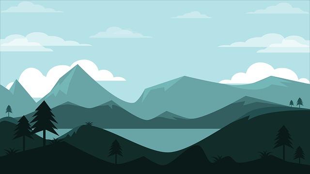Mountain, Panoramic, Landscape, Nature, Travel