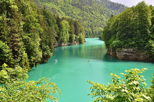 Nature, Landscape, River, Water, Turquoise Water