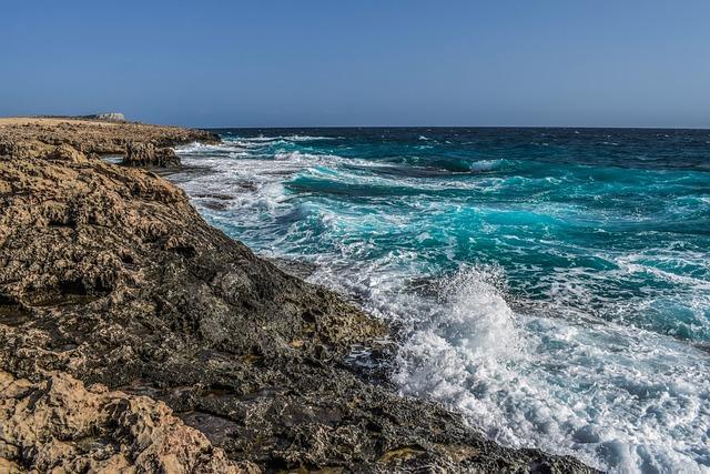 Sea, Waves, Seashore, Rocky Coast, Nature, Landscape
