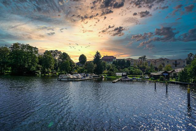 Stadtsee, Templin, Summer, Vacations, Landscape, Nature