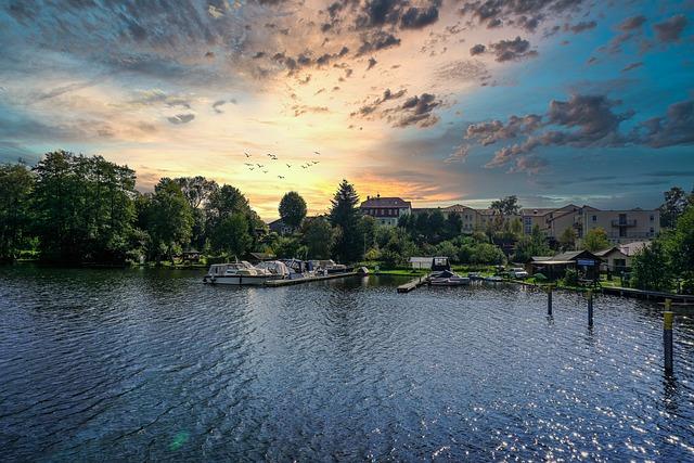 Stadtsee, Templin, Summer, Vacations, Landscape, Nature
