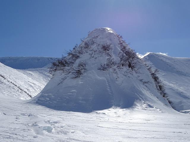 Mountain, Nipple, Landscape, Nature, Winter, Volcano