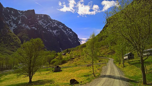 Norway, Landscape, The Nature Of The, Sky, Fjord