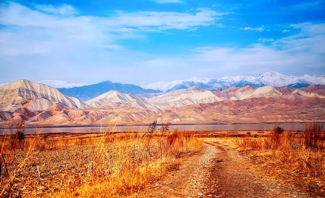 Kyrgyzstan, Landscape, Mountains, Nature, Outdoors