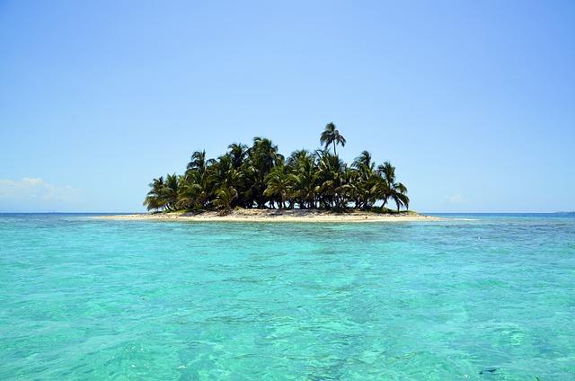 Island, Scenery, Sea, Landscape, Palm Trees, Seascape