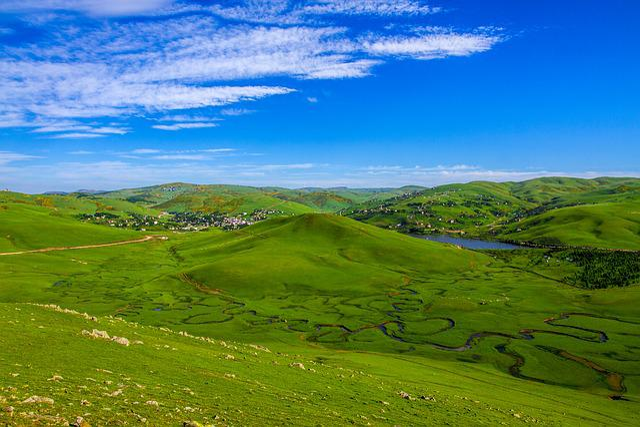 Nature, Landscape, Grass, Panoramic, Sky, Thursday Yala