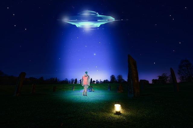 Ufo, Night Photography, Photography, Color, Landscape