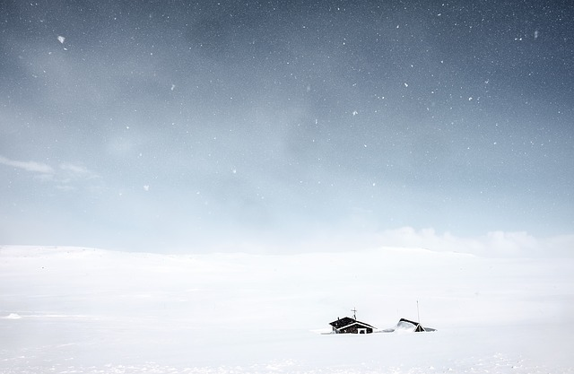 Nature, Landscape, Plains, Blanket, Snow, Hail