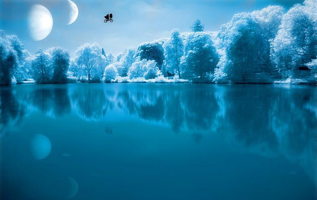 Nature, Waters, Sky, Landscape, Reflection