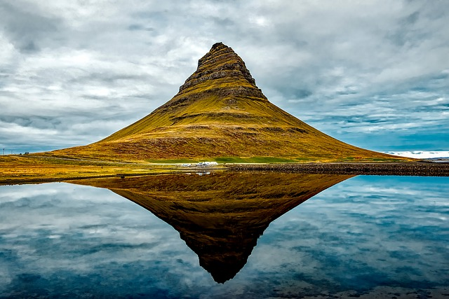 Iceland, Formation, Mountain, Landscape, Scenic, River