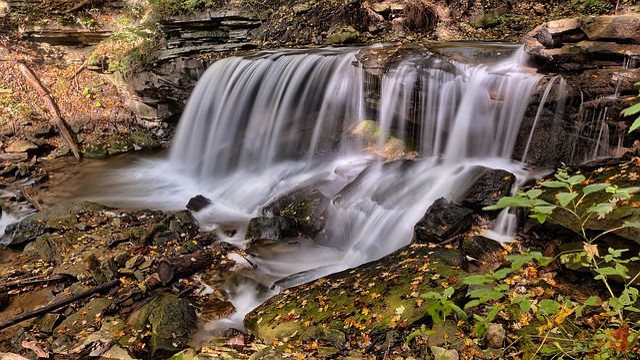 Cascade, Creek, Landscape, Outdoors, River, Rocks