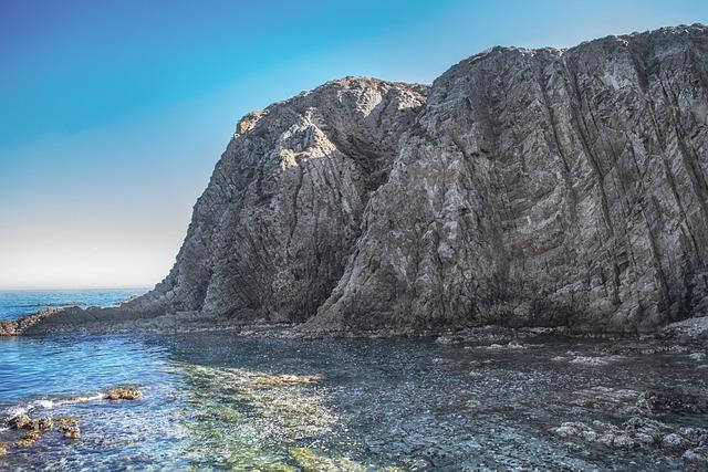 Landscape, Sea, Sky, Rocks, Form, Elephant