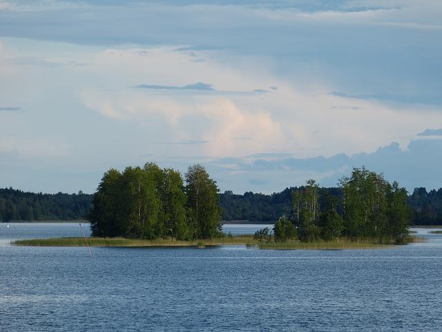 Lake Ladoga, Russia, Landscape, Nature, Island, Forest