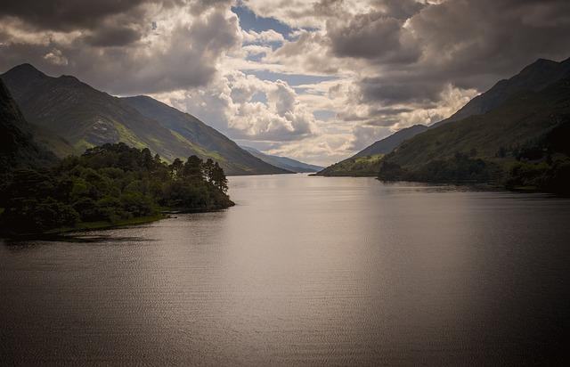 Glen, Loch, Scotland, Landscape, Mountains, Scenic